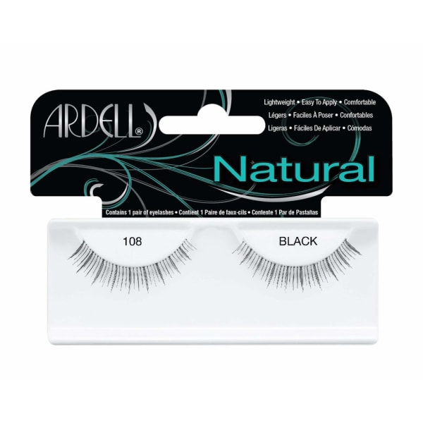 Ardell Natural Lashes 108 Black Svart