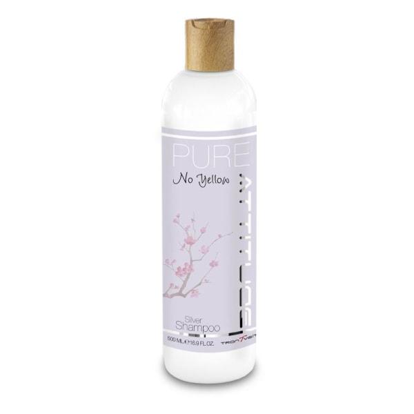 Attitude PURE No Yellow Silver Shampoo 500ml Lavendel