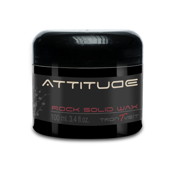 Attitude Rock Solid Wax 100ml Svart