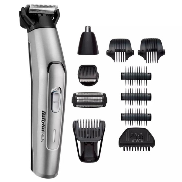 Babyliss for Men  Multitrimmer - 11-in-1 MT861E Silver