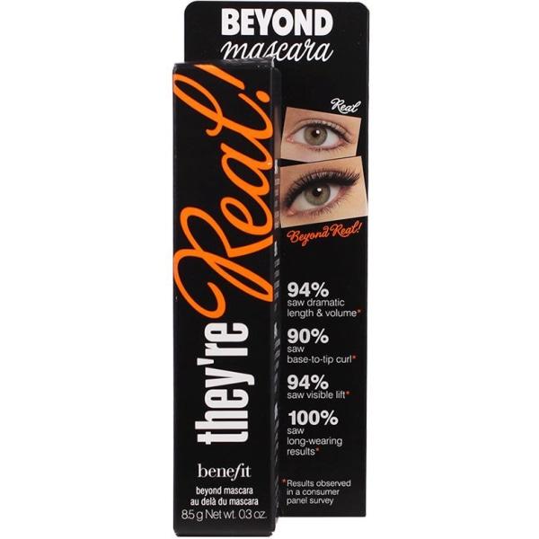 Benefit They´re Real! Beyond Mascara Black 8,5g  Svart