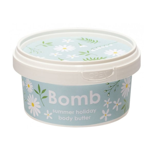 Bomb Cosmetics Body Butter Summer Holiday 210ml Transparent