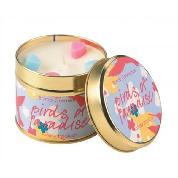 Bomb Cosmetics Tin Candle Birds Of Paradise Transparent