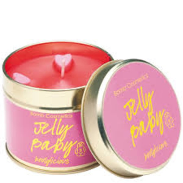 Bomb Cosmetics Tin Candle Jelly Baby Cerise
