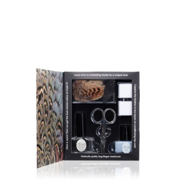 Ciaté Feathered Manicure - Ruffle My Fea Transparent
