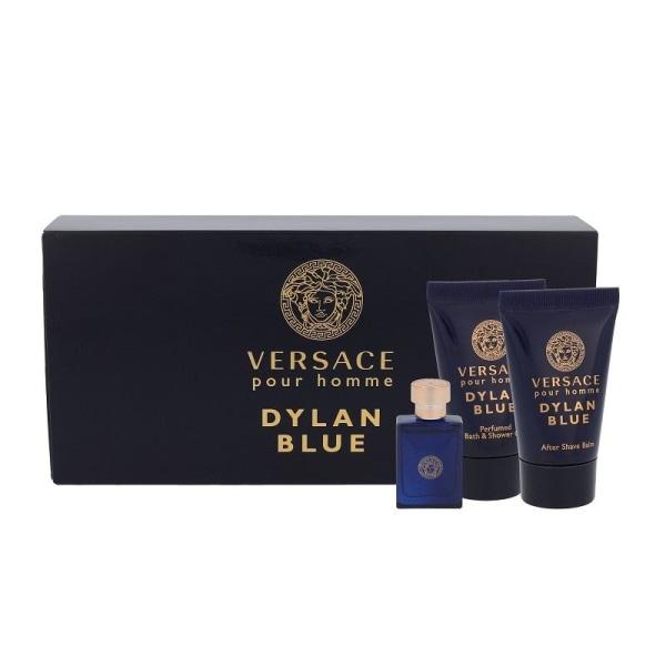 Giftset Versace Dylan Blue Edt 5ml Mini Set  Blå