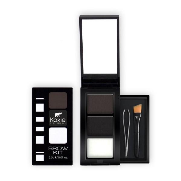 Kokie Eyebrow Kit - Black Black