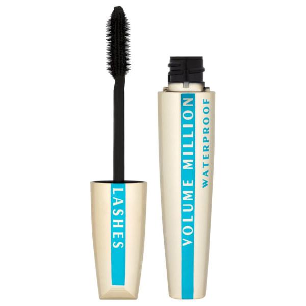 LOreal Paris Volume Million Lashes Mascara Waterproof Black 9ml Guld