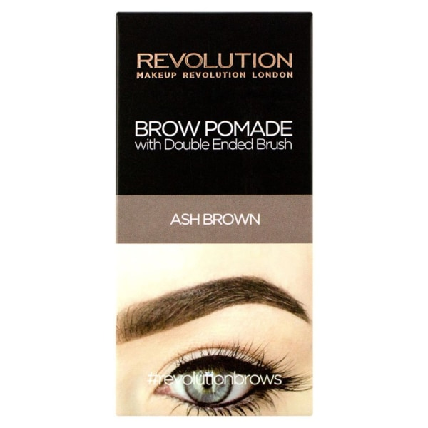 Makeup Revolution Brow Pomade - Ash Brown Brun