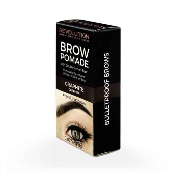 Makeup Revolution Brow Pomade - Graphite Mörkbrun