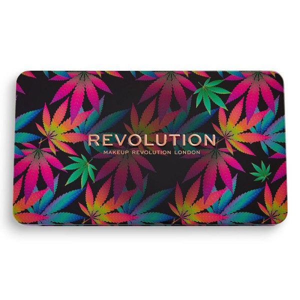 Makeup Revolution Forever Flawless Chilled with Cannabis Sativa  Lila