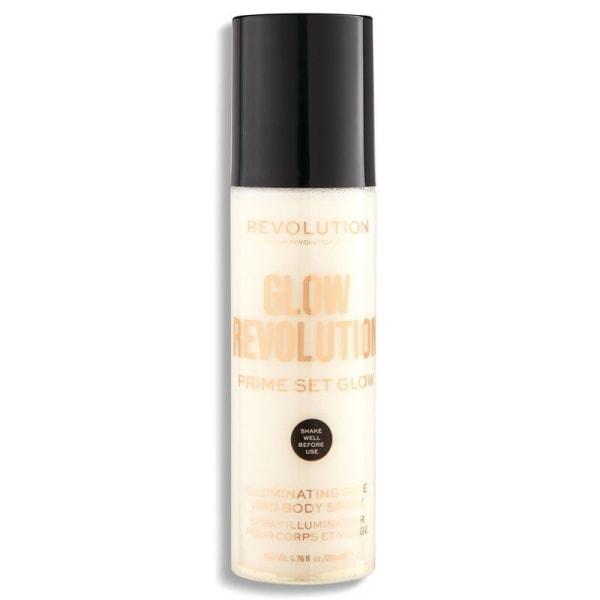 Makeup Revolution Glow Revolution - Eternal Gold 200ml vitt guld
