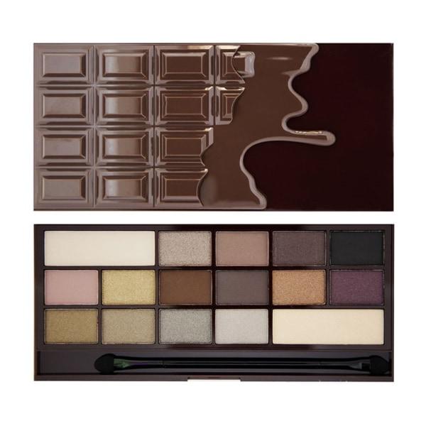 Makeup Revolution I Heart Chocolate - Death By Chocolate Mörkbrun