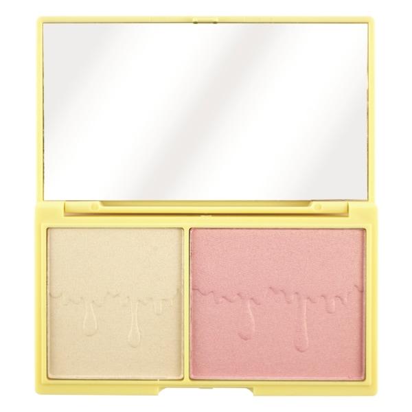 Makeup Revolution I Heart Makeup Light & Glow Contouring Palette Rosa