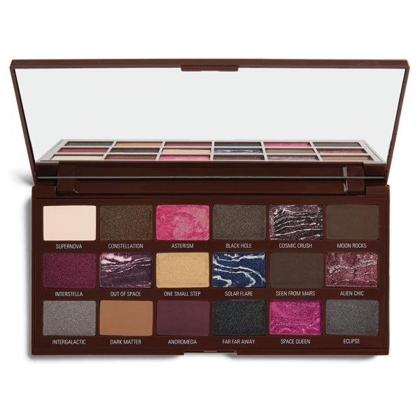 Makeup Revolution I Heart Revolution Galactic Chocolate Palette Mörkbrun