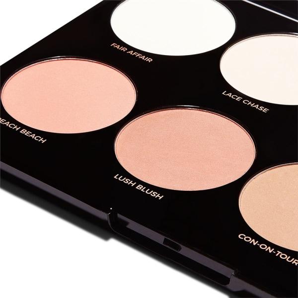 Makeup Revolution Pro HD Mega Matte Palette Transparent