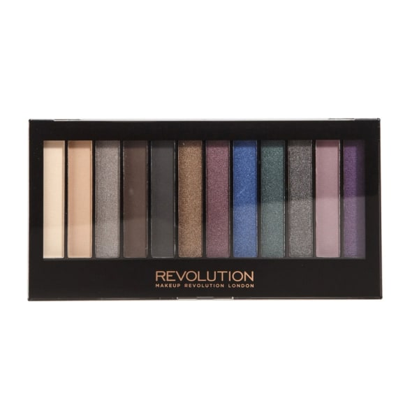Makeup Revolution Redemption Palette Hot Smoked Svart