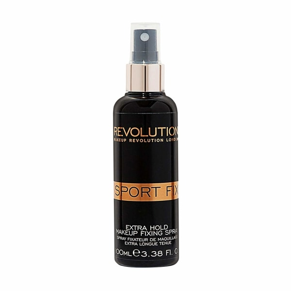 Makeup Revolution Sport Fix Extra Hold Fixing Spray  Svart