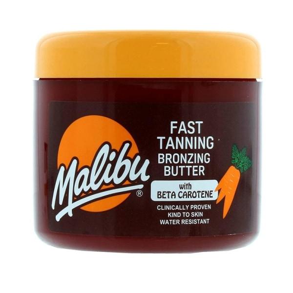 Malibu Fast Tanning Bronzing Butter with Beta Carotene 300ml Gul