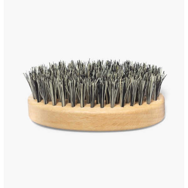 Mountaineer Brand Oval Beechwood Vegan Cactus Brush Transparent