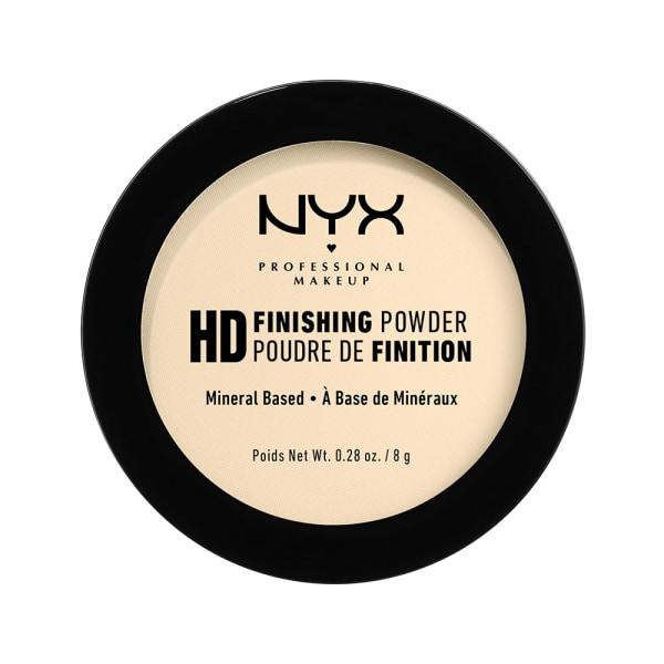 NYX PROF. MAKEUP High Definition Finishing Powder - 02 Banana Transparent