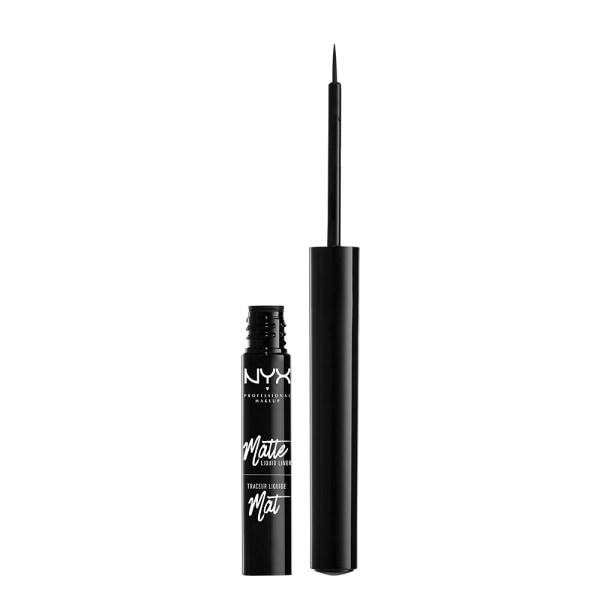 NYX PROF. MAKEUP Matte Liquid Liner Black Svart