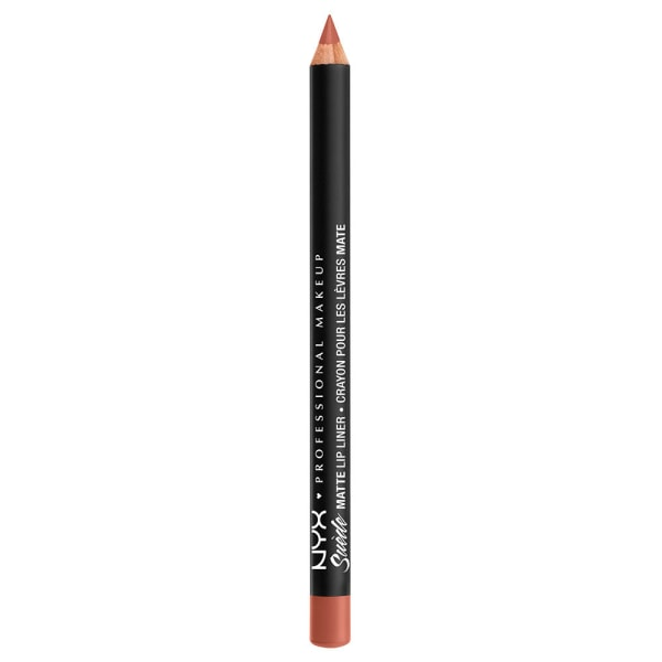 NYX PROF. MAKEUP Suede Matte Lipliner - Rose the Day Transparent
