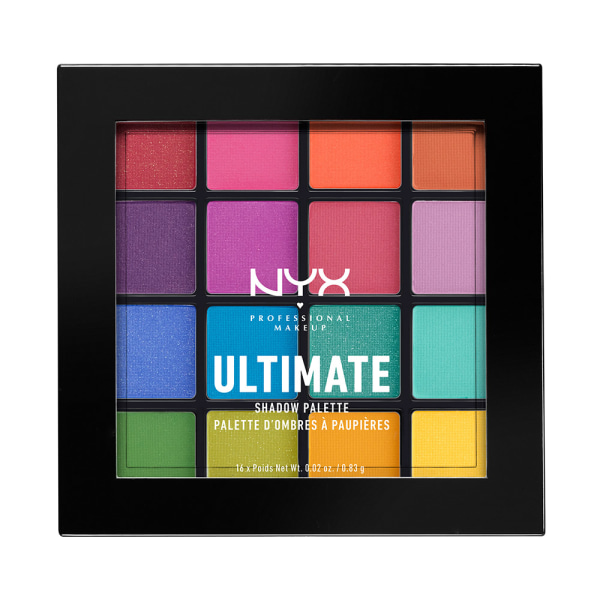 NYX PROF. MAKEUP Ultimate Shadow Palette - Brights Transparent