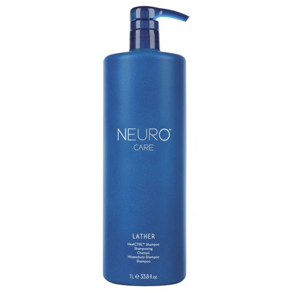 Paul Mitchell Neuro Lather HeatCTRL Shampoo 1000ml Blå