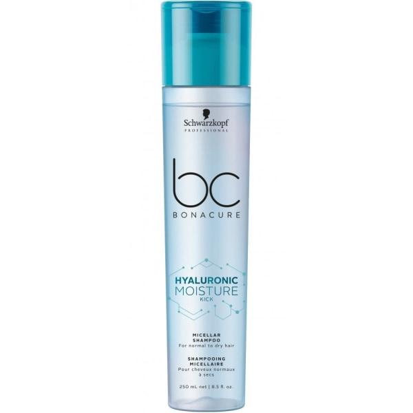 Schwarzkopf BC Hyaluronic Moisture Kick Micellar Shampoo 250ml Transparent