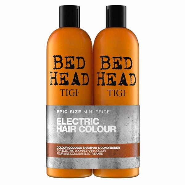 Tigi Bed Head Colour Goddess Tweens 2x750ml Orange
