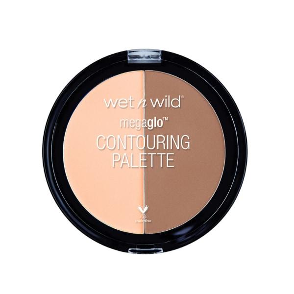 Wet n Wild Mega Glo Contouring Palette Dulce De Leche 13g Transparent