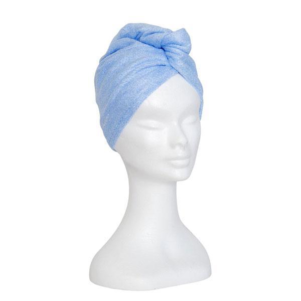 Handduk mikrofiber turban (Färg: Rosa)