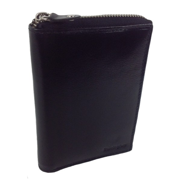 Barrington plånbok med många fack, en damplånbok i äkta skinn