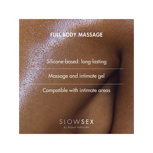 Bijoux Indiscrets: Slow Sex, Full Body Massage, 50 ml Transparent