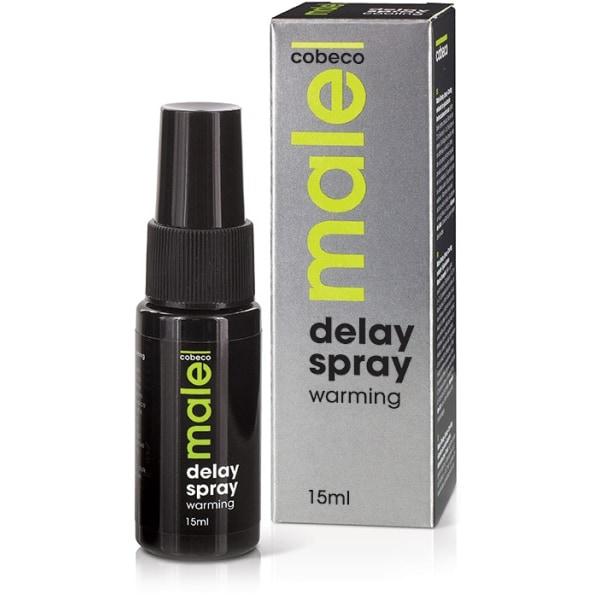 Cobeco: Male, Delay Spray, Warming, 15 ml Transparent