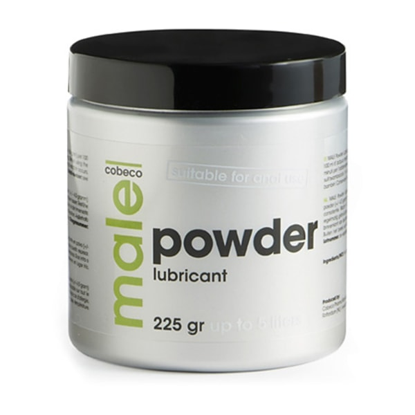 Cobeco: Male, Powder Lubricant, 225g