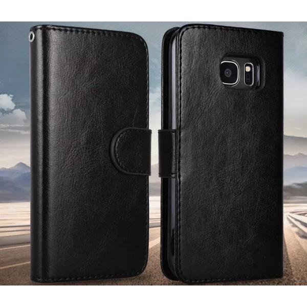 Samsung Galaxy S10 plus Fodral Plånbok Magnetskal Svart Svart