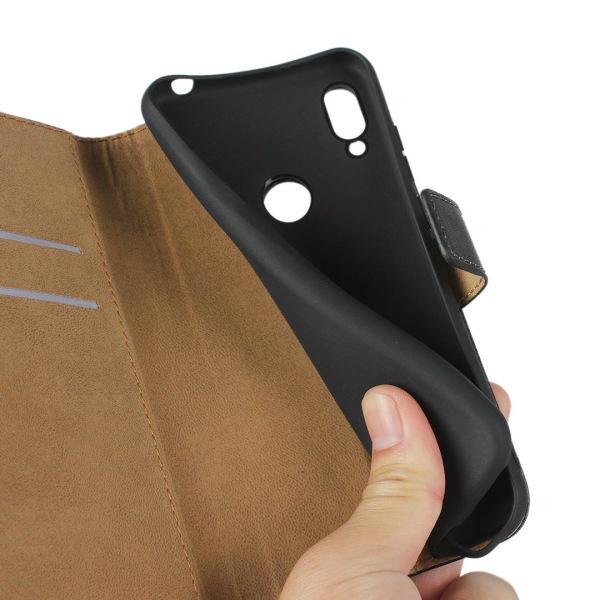 iCoverCase | Huawei Y6S | Plånboksfodral   Black