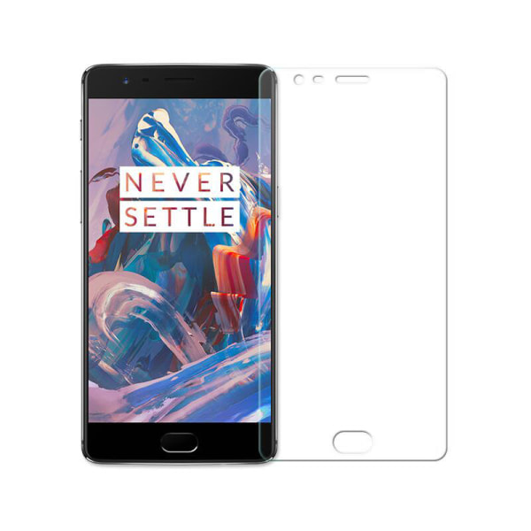 iCoverCase | OnePlus 5 | 2-Pack Skärmskydd | Härdat Glas Transparent