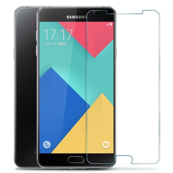 iCoverCase | Samsung Galaxy A5 2016 | 2- Pack Skärmskydd  Transparent