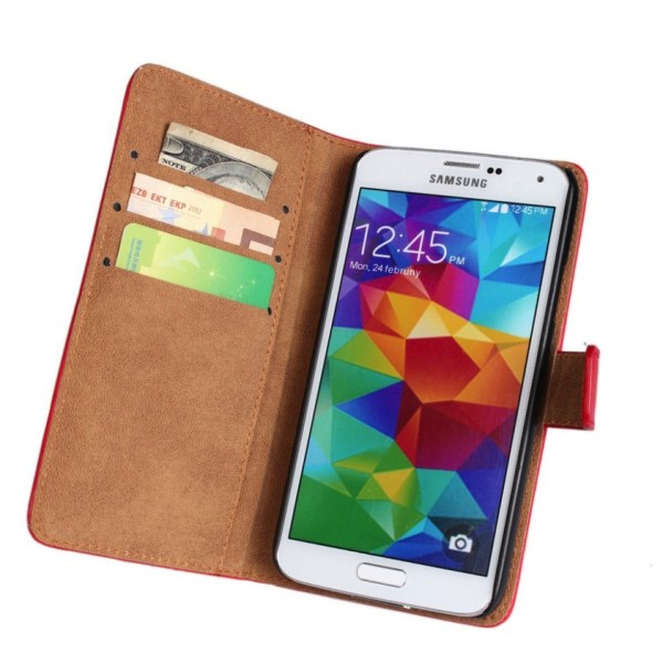 iCoverCase   Samsung Galaxy S5   Plånboksfodral  Black