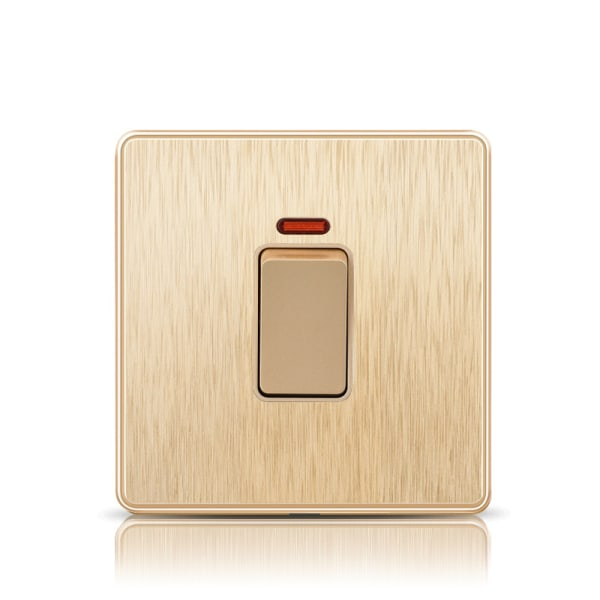 Eluttag Vägglampa Switche & Socket UK USB-port 20A-omkopplare