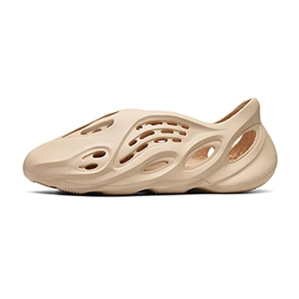 Unisex mode sandaler barn sommar snabbtorkande skor andas Beige 36/37