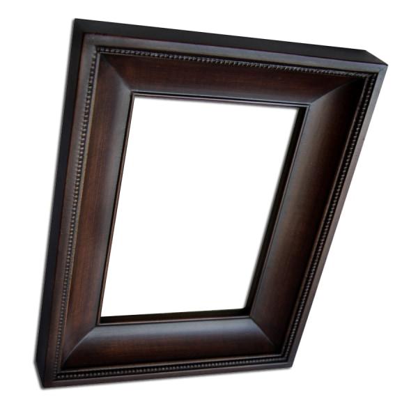13x18 cm eller 5x7 tum, fotoram i ek Brun