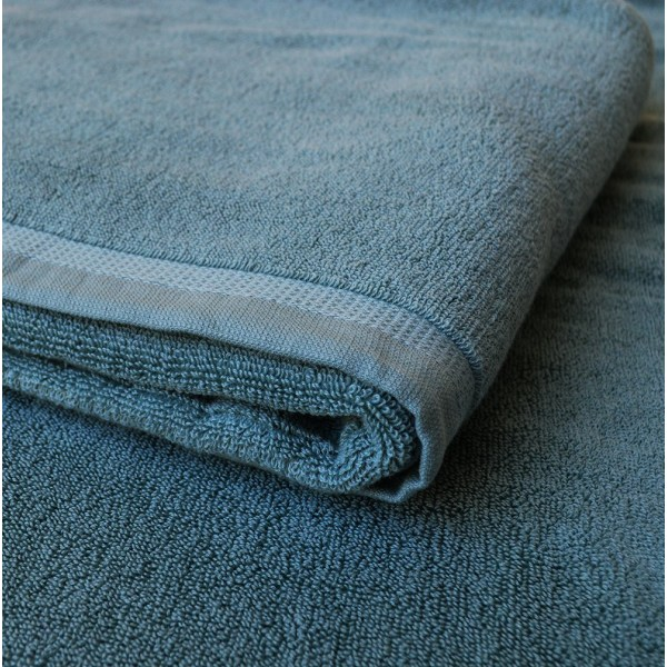 3 stycken badlakan och 3 stycken handdukar Blå one size