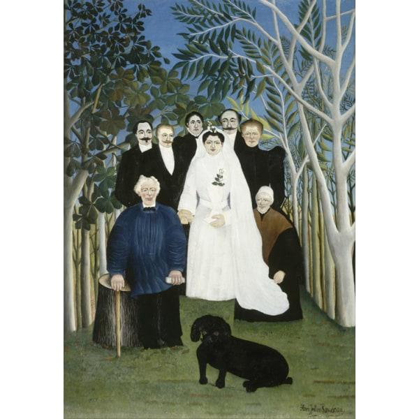 A Country Wedding,Henri Rousseau,60x40cm