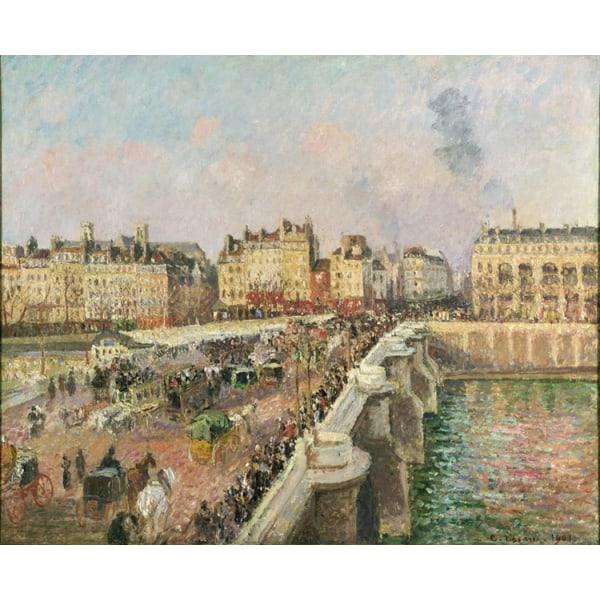 Afternoon sunshine,Camille Pissarro,50x40cm Brun
