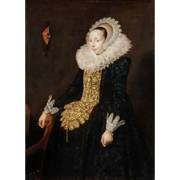 Catharina Both van der Eem,Frans Hals,60x40cm