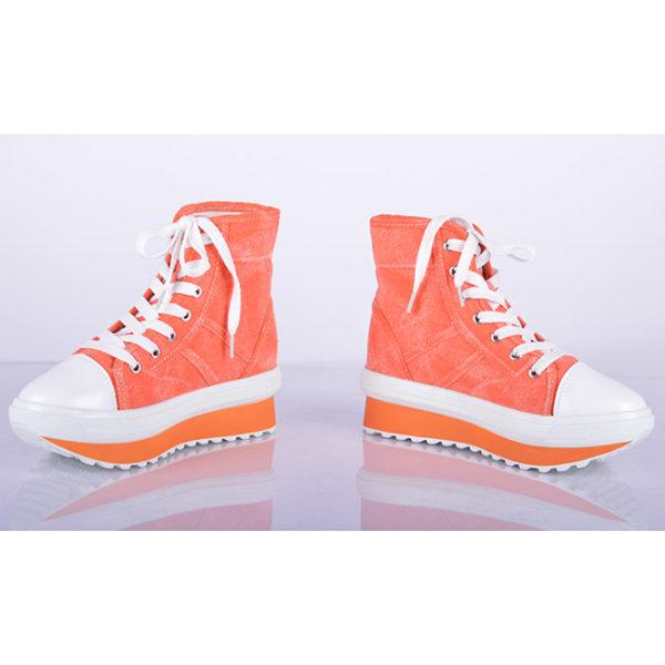 Coola sneakers med 5 cm sulor Orange 38